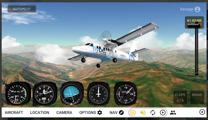 GeoFS - Flight Simulator mod apk