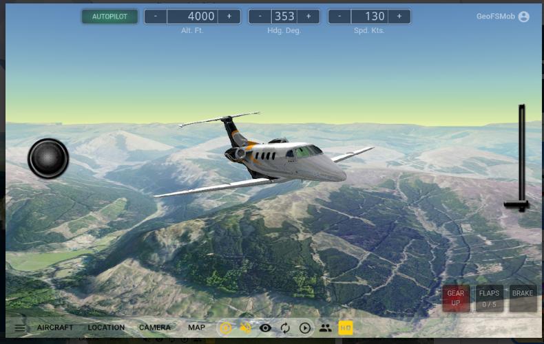 Download GeoFS - Flight Simulator