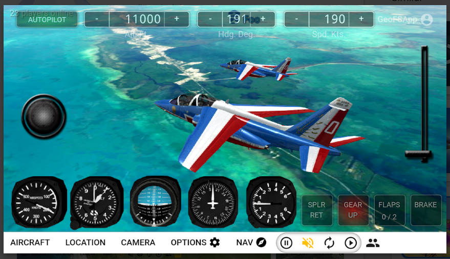GeoFS - Flight Simulator apk