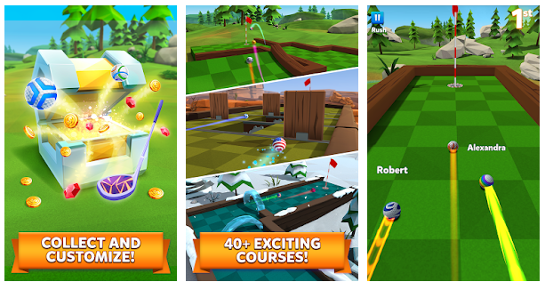 Download Golf Battle Mod APK