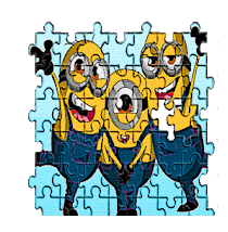Puzzle for cute minions rush