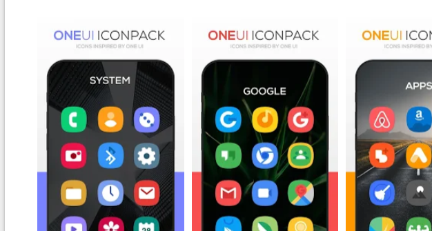 ONE UI Icon Pack Mod APK