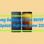 Galaxy J7 Max G615F Oreo Update