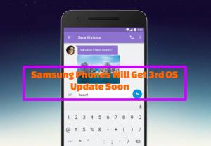 Samsung Phones Will Get 3rd