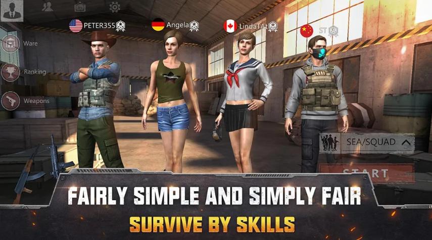 Survival Squad Mod