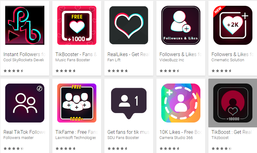 Get 1000+ followers & Likes of Tiktok