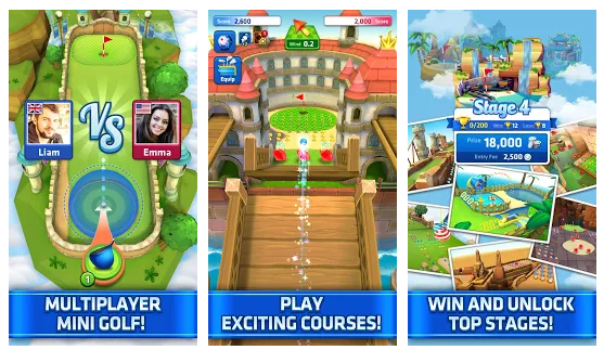 Mini Golf King Mod APK+DATA