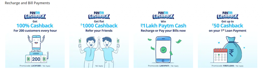How-to Bill Payment by Paytm?