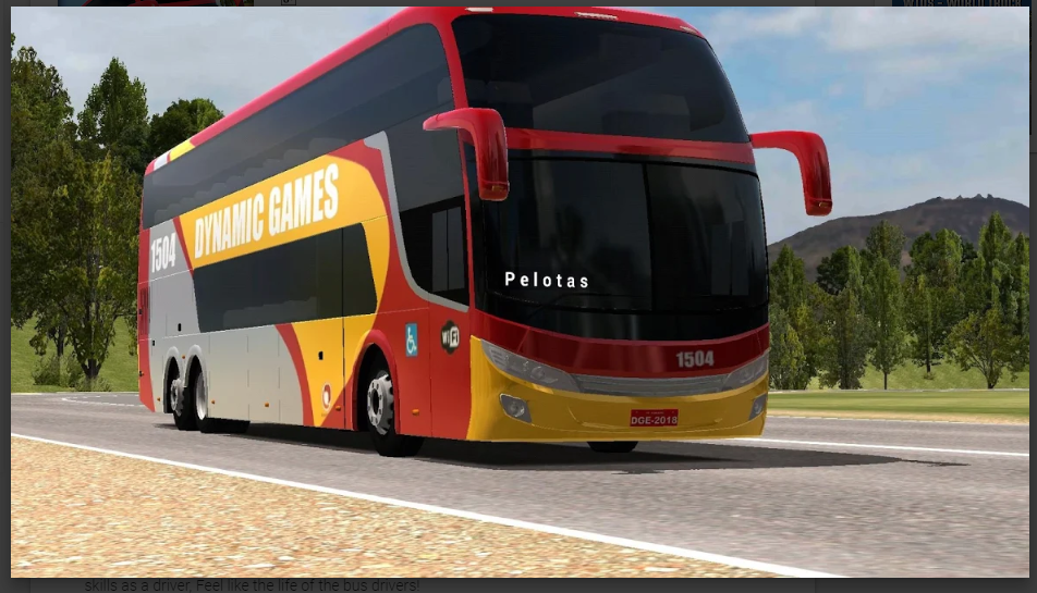 World Bus Driving Simulator Mod