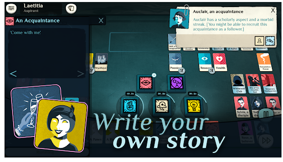 Play Cultist Simulator Mod APK offline in Android