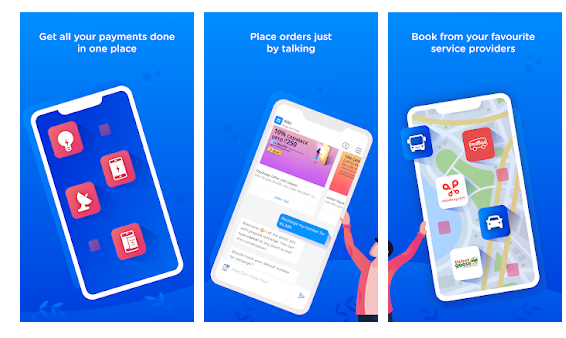 Niki: Postpaid bill payment, Bus booking, & more