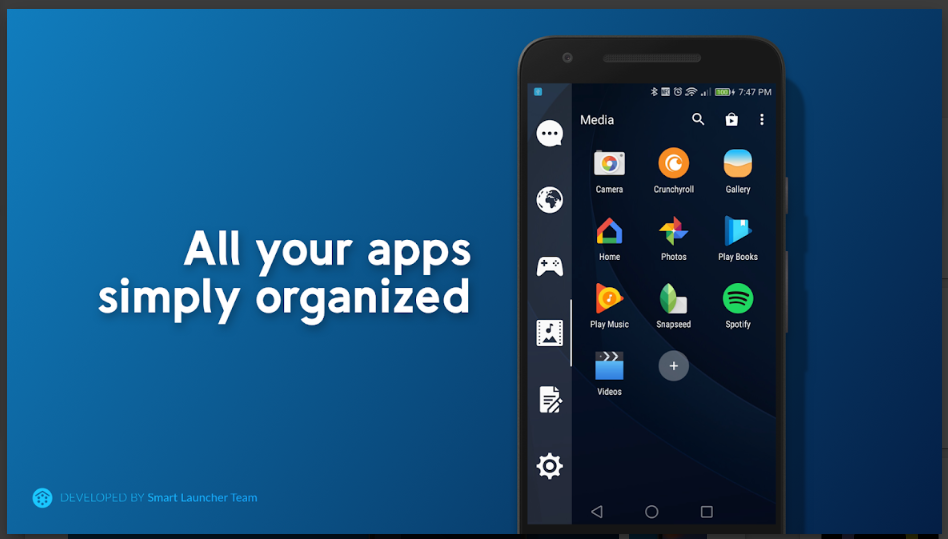 Smart Drawer - Apps Organizer By Smart Launcher
