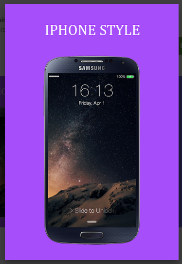 iLock - iPhone Screen Lock APK