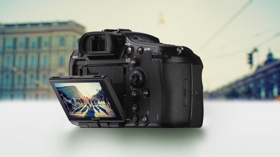 Canon Camera with Flip Out Screen