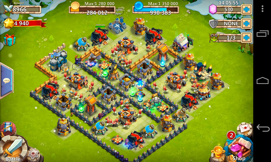 Download Castle clash Mod APK for Android
