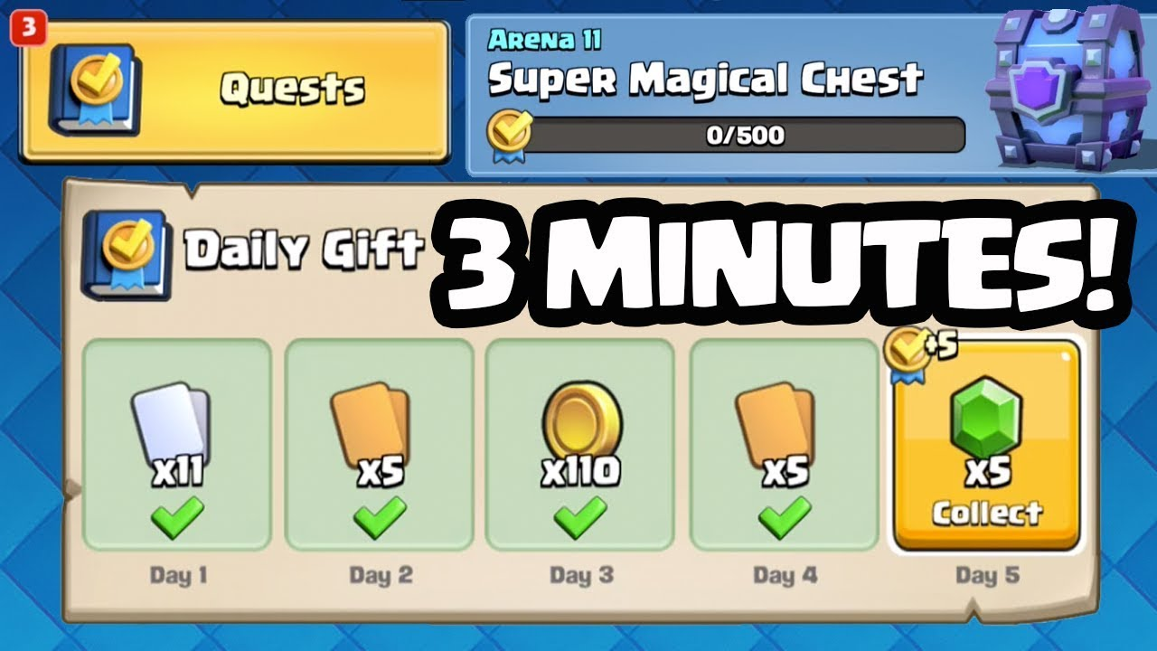 Clash Royale Mission And Challenges