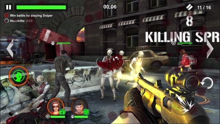 Dead Warfare Zombie EPIC EFFECTS