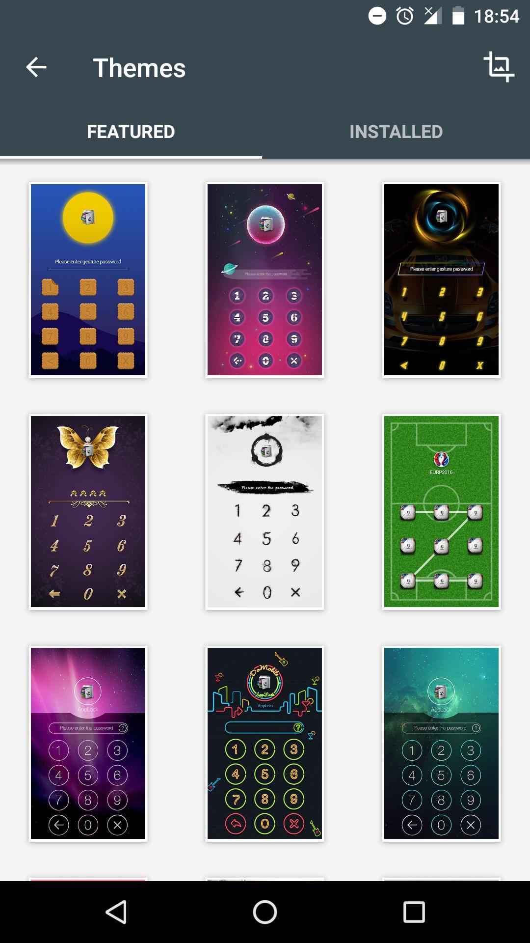 DoMobile Lab app lock