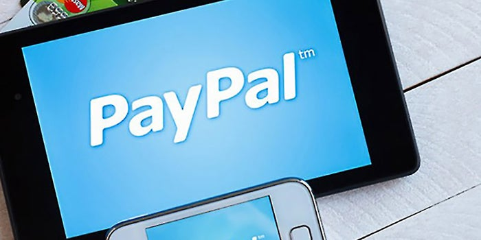 PayPal Payments to the Play Store