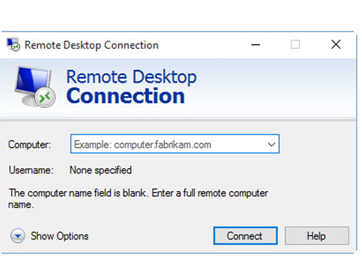 How To Do Remote Desktop Connection