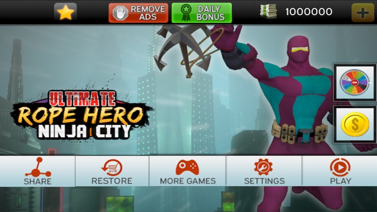 Download Rope Hero Mod APK Game for Android