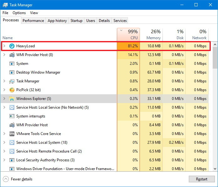 Task Manager Shortcuts