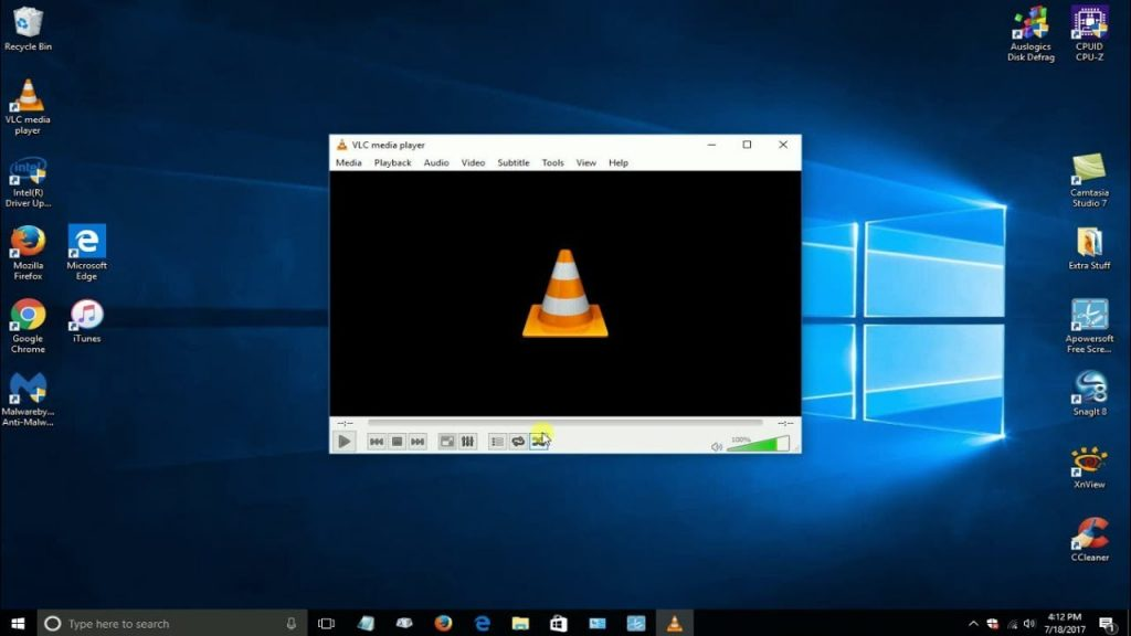 VLC player for PC format