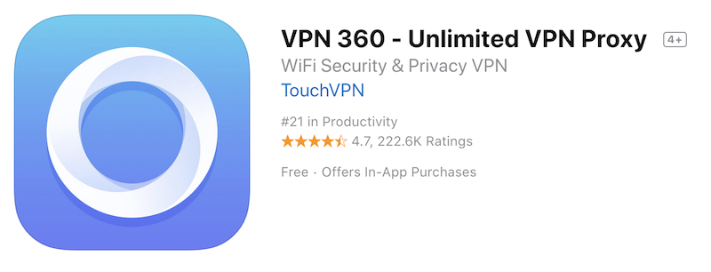 VPN 360 App for PC