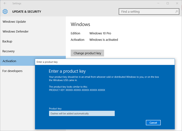 What Are The Windows 10 Product Key