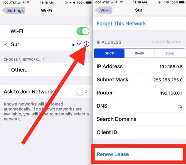 iPhone Unable to Connect to Wi-Fi
