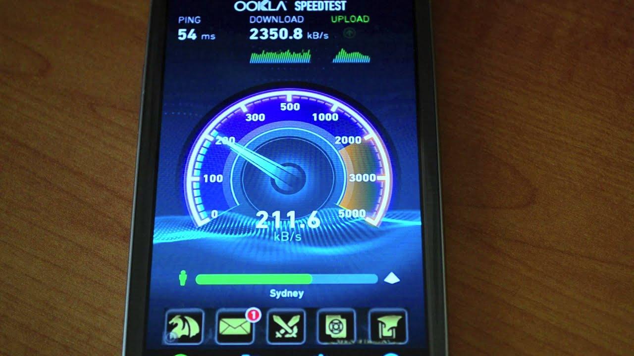 Vodafone Speed Test
