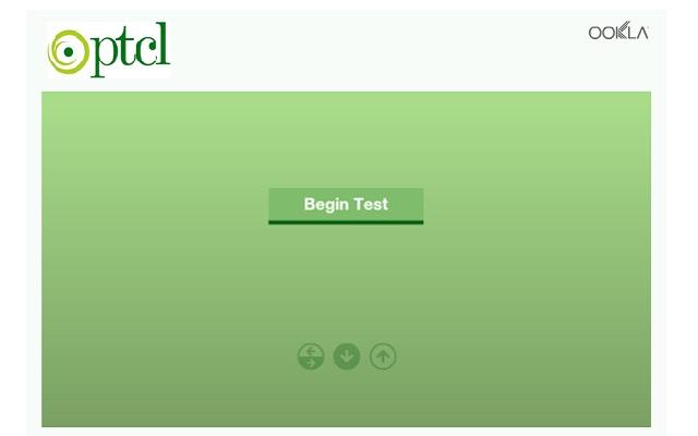 ptcl speed test