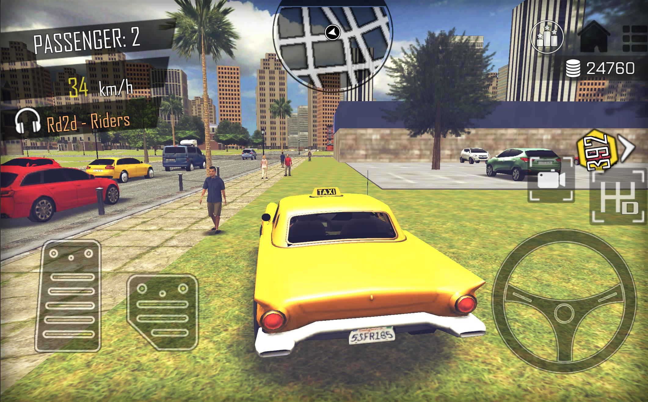 Taxi Simulator Game