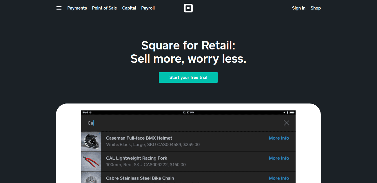 EXPLAIN SQUARE POS SYSTEM.