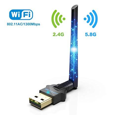 MEIYIN 1200Mbps Dual Band USB Wireless 5G
