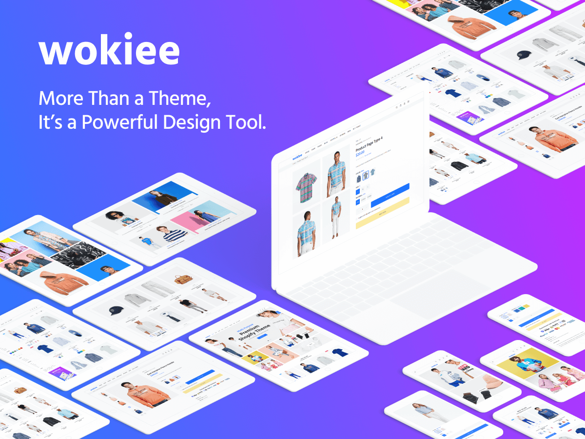Wokiee – Multipurpose Shopify Nulled