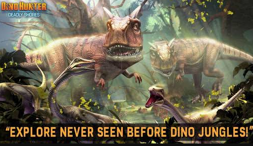 Dino Hunter Deadly Shores Mod APK free Download
