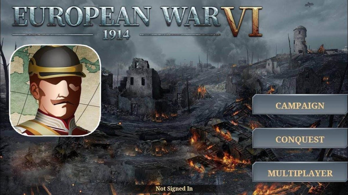 European War 6 1914 MOD APK for PC Download