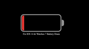Fix IOS 14 & Watchos 7 Battery Drain