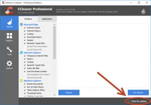 How to Update CCleaner?