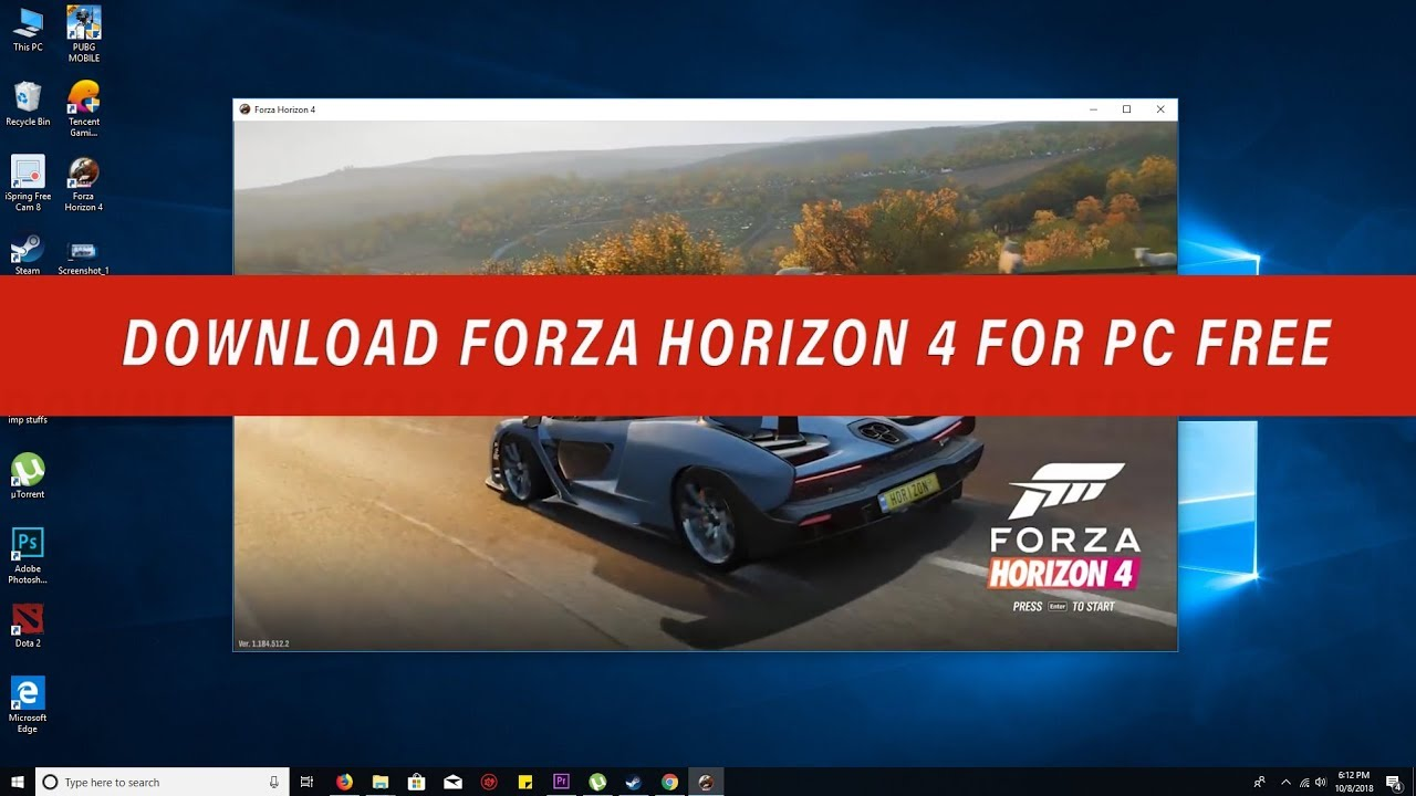 Download Forze Horizon 4 on PC